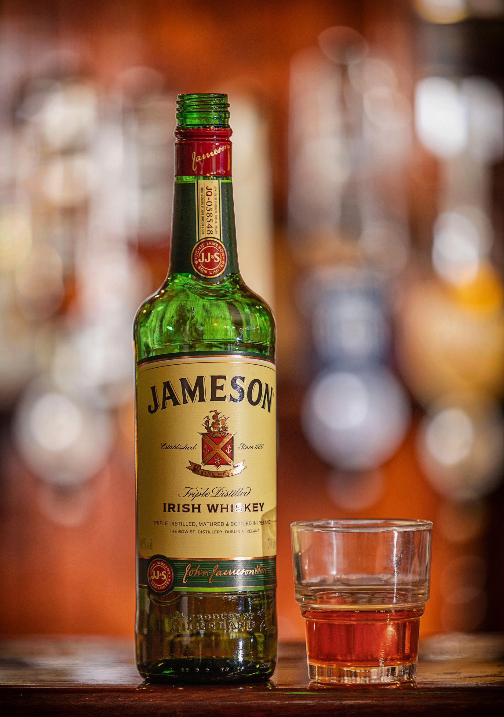 Larkins Pub Bottle of Whiskey