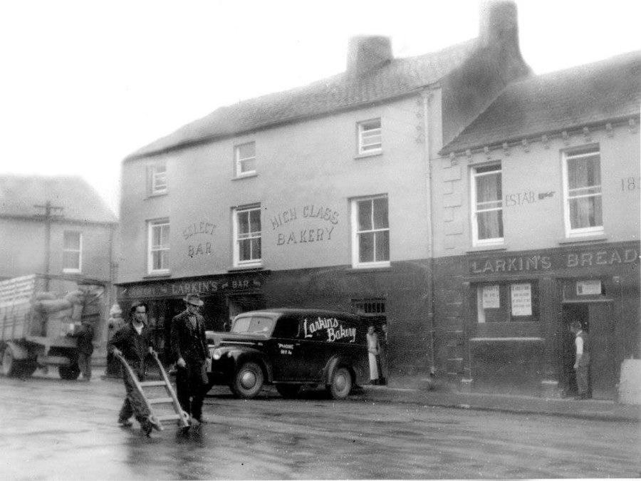 Larkins Pub and B&B in the 1940's